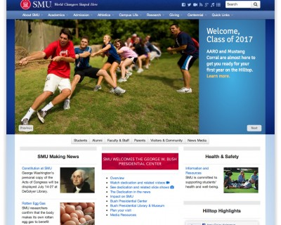 SMU Website