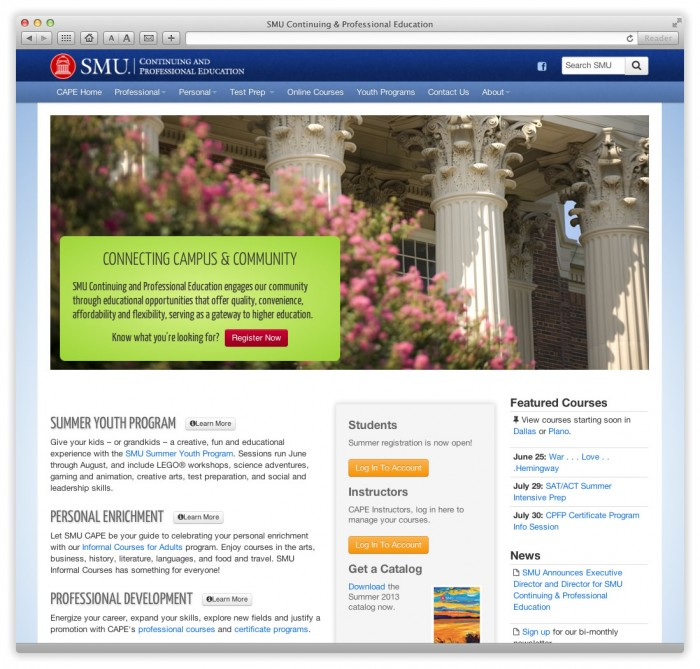 SMU Continuing and Professional Education