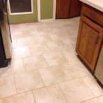 Lovely new tile in the kitchen