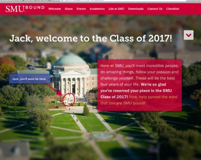 SMU Bound Website