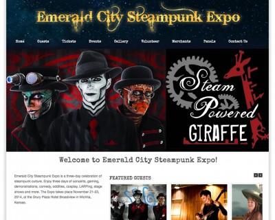 Emerald City Steampunk Expo Website