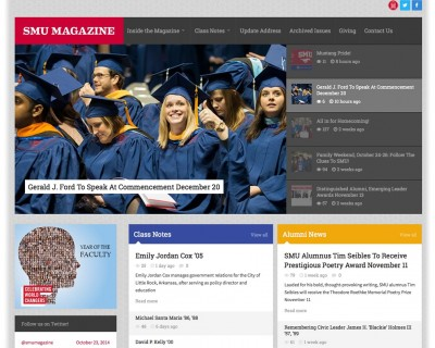 SMU Magazine Website