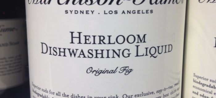 Not just ANY dishwashing liquid…